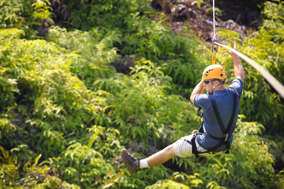 Jungle Valley Zipline Adventure With Princeville Ranch