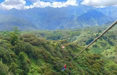 Kauai Backcountry Adventures 7 Zipline Course